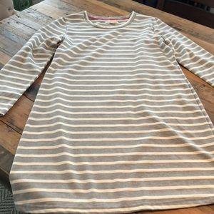 Kenar Grey/Cream cotton dress. Great condition!